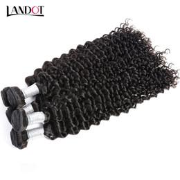 24 profonds faisceaux de cheveux bouclés en Ligne-L'Inde péruvienne malaisienne mongole cambodgienne brésilienne bouclés de la Vierge Cheveux humains des tissus de tissus Unprocessed Brazilian Deep Curly Remy Hair