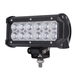 Led Work Light Bar 36W Led Flood Lights Fog Lights Driving Lamp Waterproof for Off Road JEEP 4WD 4X4 Toyota Ford Marine Boat ATV UTE UTV SU