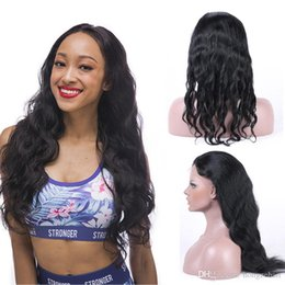 Best Hair Products Natural Wave Full Lace Human Hair Wigs For Black Women Brazilian Virgin Hair Lace Wigs Pre Plucked Natural Hairline