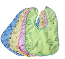 Cartoon Waterproof Baby Feeding Toddler Infant Bib Bibs Keep Dry