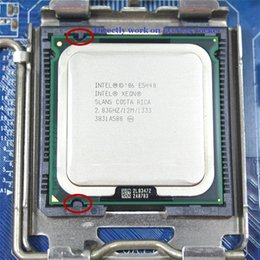 Wholesale Intel Xeon E5440 GHz M Processor close to Core Quad Q9550 CPU works on LGA mainboard no need adapter