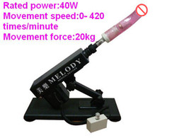 Hot sex toy gun cannon masturbation machine for female with large dildos Sex toy devices Movement Speed:0-420 times minute