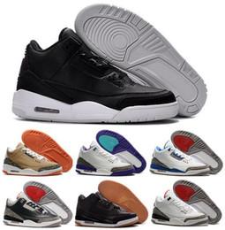 Wholesale Buy Retro Air Basketball Shoes Sports Replicas Original Man Sneakers Fashion Retros s III Shoes Men Basketball Shoes
