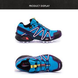 hot selling 2017 solomon Mountaineering man shoes solomons speedcross 3 Waterproof anti-slip breathable light comfortable