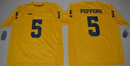Wholesale 2017 Jumpman Tom Brady Jabrill Peppers Charles Woodson Jim Harbaugh Michigan Wolverines College Football Stitched Limited Jerseys