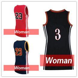 2017 Nouveau femmes coutures d'impression Michael 23 Basketball Jersey femmes Kawhi Leonard 2 Cheap Dwyane Wade 3 femmes 35 Kevin Durant Livraison gratuite à partir de nouvelle femme jersey fabricateur