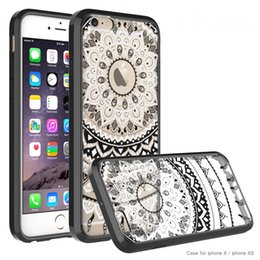 Wholesale Mandala Flower Slim Case For Iphone s Acrylic PC High Quality Fashionable Dirt resistant Fitted Cases Hot Sale Products