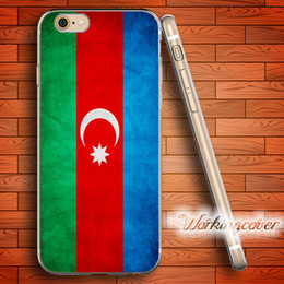Coque Azerbaijan Flag Soft Clear TPU Case for iPhone 6 6S 7 Plus 5S SE 5 5C 4S 4 Case Silicone Cover.