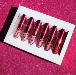 Wholesale 2017 new Kylie Jenner Lipkit Valentine Edition beautiful Set Lipstick Lipgloss High Quality Valentine Gift