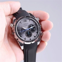 1080P HD 8GB Mini Camera Watch Metal DVR Wearable Video Recorder Night Vision DVR Portable Mini Camcorder Mini Wristwatch Camera