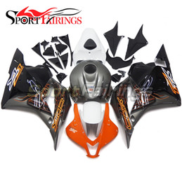 Wholesale Motorcycle Injection ABS Plastic Fairing Kits For Honda CBR600RR F5 Machine Design Grey Orange Newest