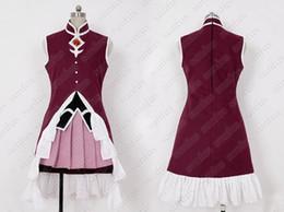 La réalisation de films à vendre-Puella Magi Madoka Magica Kyoko Robe Sakura Costume Cosplay Film sur mesure