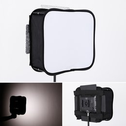 Wholesale SB600 SB300 Softbox Diffuser for YONGNUO YN600L II YN900 YN300 YN300 III Air Led Video Light Panel Foldable Portable Soft Filter