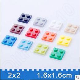 Wholesale 13 Colors Building Bricks Mosaic Set Base Plates Building Blocks Assemblage Base Plate CCA5474 set