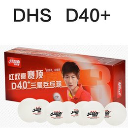 Wholesale Original DHS D40 star New Material Seamed PP Ball Table Tennis ball ping pong ball pack