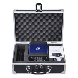 Wholesale Menovo Best Enail Dab Dnail Coil Heater Kit Electric Dabber Box Intelligent PID Tempreture Controller Box Dab Rig For Sell
