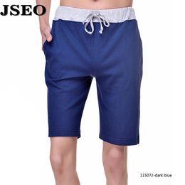 Wholesale JSEO Men Barracuda Swim Trunk Linen Casual Sport Short Beach Shorts Swimwear with Pockets Summer Beach Cruise Shorts