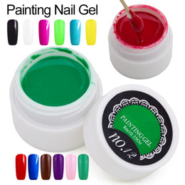 Wholesale Paint Color Gel Draw Painting Acrylic Color UV Gel Nail Art Painting Lacquer Manicure Semi Permanent Nail Polish