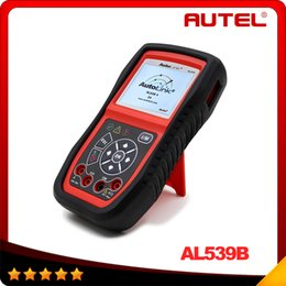 Wholesale 100 Original AUTEL AutoLink AL539b OBDII and Electrical Test Tool with AVO Meter advanced AL539 Car Scan Tool DHL