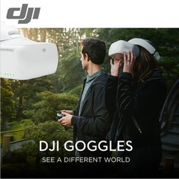Promotion dji inspire drone En Stock Lunettes DJI Goggles FPV HD VR pour Spark Mavic Pro Phantom 4 Inspire Drones 1920x1080 Ecrans Head Tracking