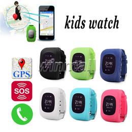 Acheter en ligne Enfants finder-Enfants Cadeau Q50 Enfants GPS Tracker Anti perdus Smart Watch Enfants SOS SIM Appelez GSM-Phone Localisation Finder Appareil PK Q60 Q80 Q90