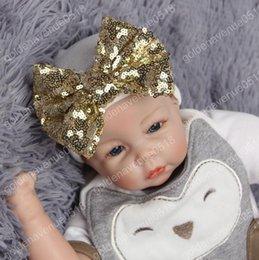 3Seasons Sombreros recién nacidos con lentejuelas Gorro Bebé lindo Bebé Toddle caliente accesorio Bonnet Fotografía Props 6colors cute baby photography props promotion desde cute baby accesorios de fotografía proveedores