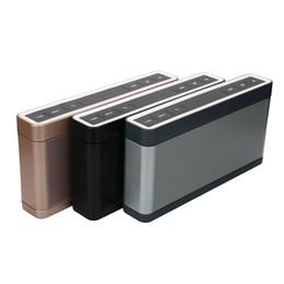 168 Mini III 3ème haut-parleur Bluetooth Haut-parleur double surround 3D Surround Haut-parleur stéréo HIFI Home Cinema Haut-parleur intelligent Caixa de som à partir de cinéma maison intelligente fabricateur