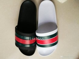 Wholesale 2017 mens fashion causal flat rubber sandals summer outdoor beach slide sandals slippers colors euro40