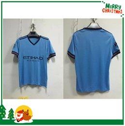 Wholesale MLS NYCFC New York City FC Soccer Jerseys PIRLO MIX DAVID VILLA LAMPARD Away Blue Maillot De Foot football shirts