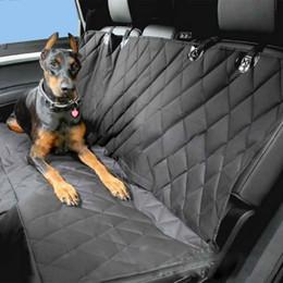 Coche Asientos de Animales Cubiertas Asiento trasero impermeable 600D Oxford Interior Accesorios para el automóvil Accesorios de viaje Asientos de coches en asientos Estera para mascotas Perro desde accesorios de viaje coche fabricantes