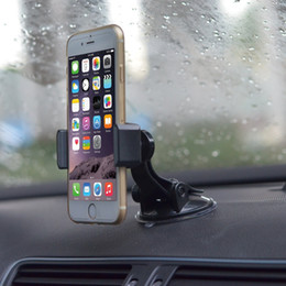 Wholesale Whosale Cradle less Windshield Car Mount Holder Cradle with Ultra Dashboard Base for LG G5 Nexus X P Moto HTC Sony Other Smartphones