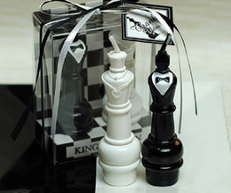 10 Sets King&Queen Chess Candle Wedding Baby Shower Birthday Souvenirs Gifts Favor Packaged with PVC Box