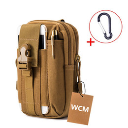 Outdoor 600D Tactical Pouch EDC Utility Gadget Belt Waist Bag Tool Organizer with Cell Phone Holster Holder