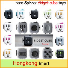 Wholesale Free DHL color Fidget cube the world s first American decompression anxiety Toys best desk toys for kids