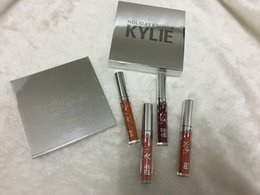 Wholesale more stock Kylie Holiday Edition Kit Matte kylie jenner Liquid lipgloss Collection Set For Christmas Gift from idea