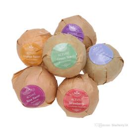 Wholesale Organic Bath Salt Bombs Skin Care Oil Sea Salt Bath Bombs Gift Set Flavor Organic Handmade OZ g