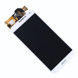 Wholesale for samsung e7 E7000 LCD alibaba china DHL AAA lcd screen with touch display digitizer replacement assembly Black White Gold for Samsung E7