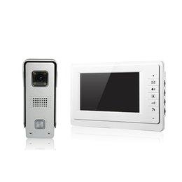 Wholesale V70F M3 villa video door phone Aluminum alloy CMOS camera inch screen and WLED night vision