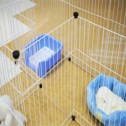 Wholesale The National Post Changeable Multifunctional Fence Super Bearing Cage Pet Dog And Cat Rabbit Wire In The Fence A Large Box