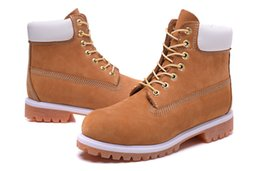 Wholesale Cheap price Winter Red Snow Boots Brand Men Women Genuine Leather Waterproof Outdoor Work Boots Cow Leather Hiking Shoes Leisure Ankle Boots