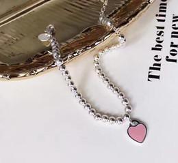 Wholesale 2017 New TOP QUALITY sterling silver Beaded Bracelet bracelets Women Jewelry Nail Cuff Love Bangle