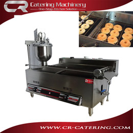 Wholesale Better taste full automatic gas mini donut maker V high quality small doughnut making machine h with CE CR DN1200G