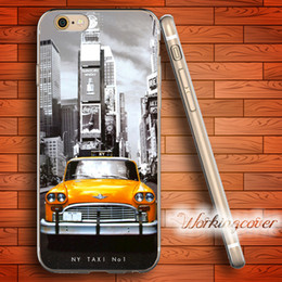 Fundas New York My Taxi Soft Clear TPU Case for iPhone 7 6 6S Plus 5S SE 5 5C 4S 4 Case Silicone Cover.