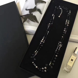 Beaux colliers à vendre-2017 nouveau style de luxe original collier perlé féminine superbe collier de luxe magnifique Livraison gratuite, collier féminin elegent
