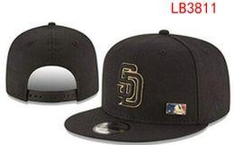 Wholesale free ship Padres Snapback Adjustable Caps baseball Hats San Diego snapbacks Players Sports for Adult