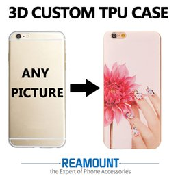 3D Relief DIY Custom Cover for iphone 6 for iphone 6 plus for iphone 6s plus Create Custom LOGO & Picture TPU Soft Case