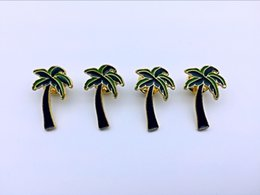20pcs fashion decorative fairy palm tree brooch, used for cowboy clothing, hats and other decorative brooches