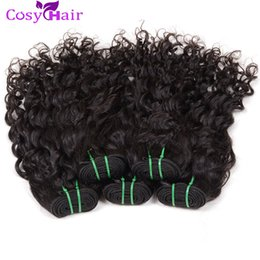 Vague d'eau armure bouclée en Ligne-Pack de vagues d'eau Remy Cheveux humains 6 Bundles Extension brésilienne de cheveux d'eau de l'eau 100% Virgin Brazilian Cheveux Weave Weft Big Curly Dyeable