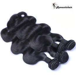 2017 18 black hair Virgin Hair Weave Bundles Meilleur 8A Non traité Brazillian Péruvien Indien Malaisien Cambodgien Straight Extension de cheveux humains Naturel Noir 18 black hair autorisation