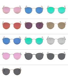 Lente de espejo en Línea-Gafas de sol de espejo de la vendimia Vintage espejo protección UV